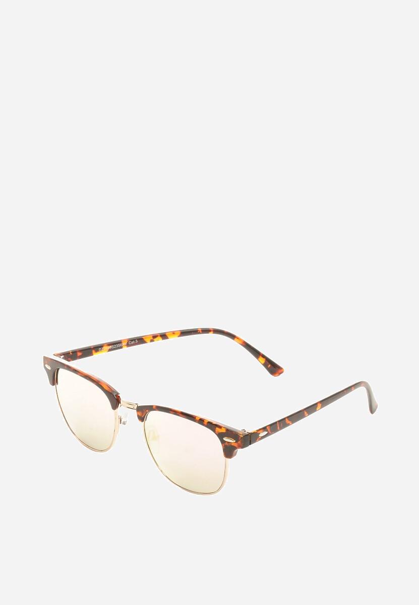 Ciemnoróżowe Okulary Adding