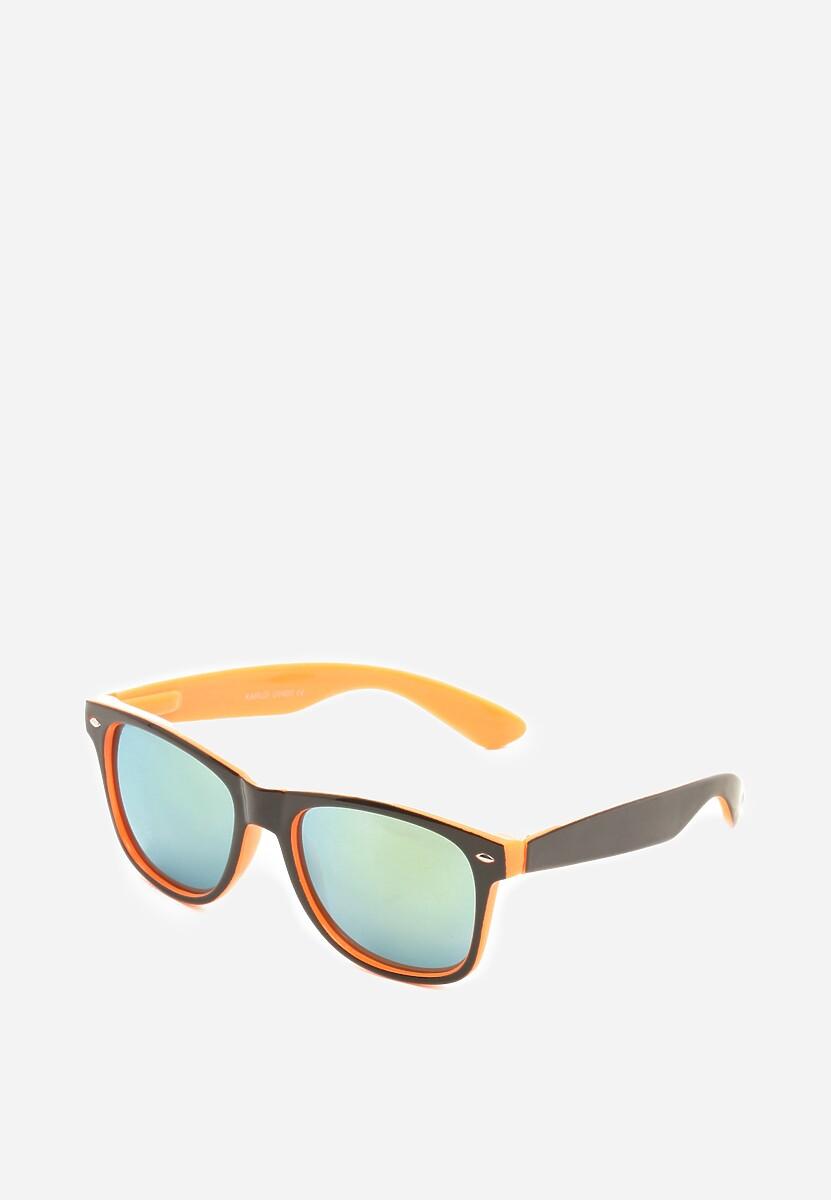 Czarno-Pomarańczowe Okulary Screeching