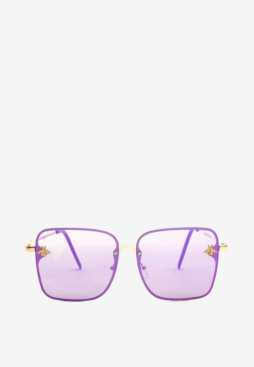 Fioletowe Okulary Comes