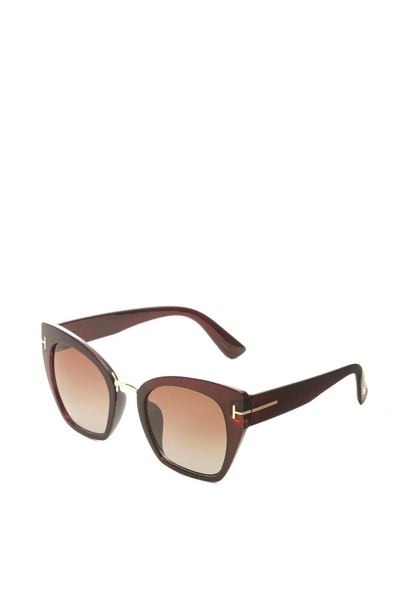 Ciemnobrązowe Okulary Invigorated