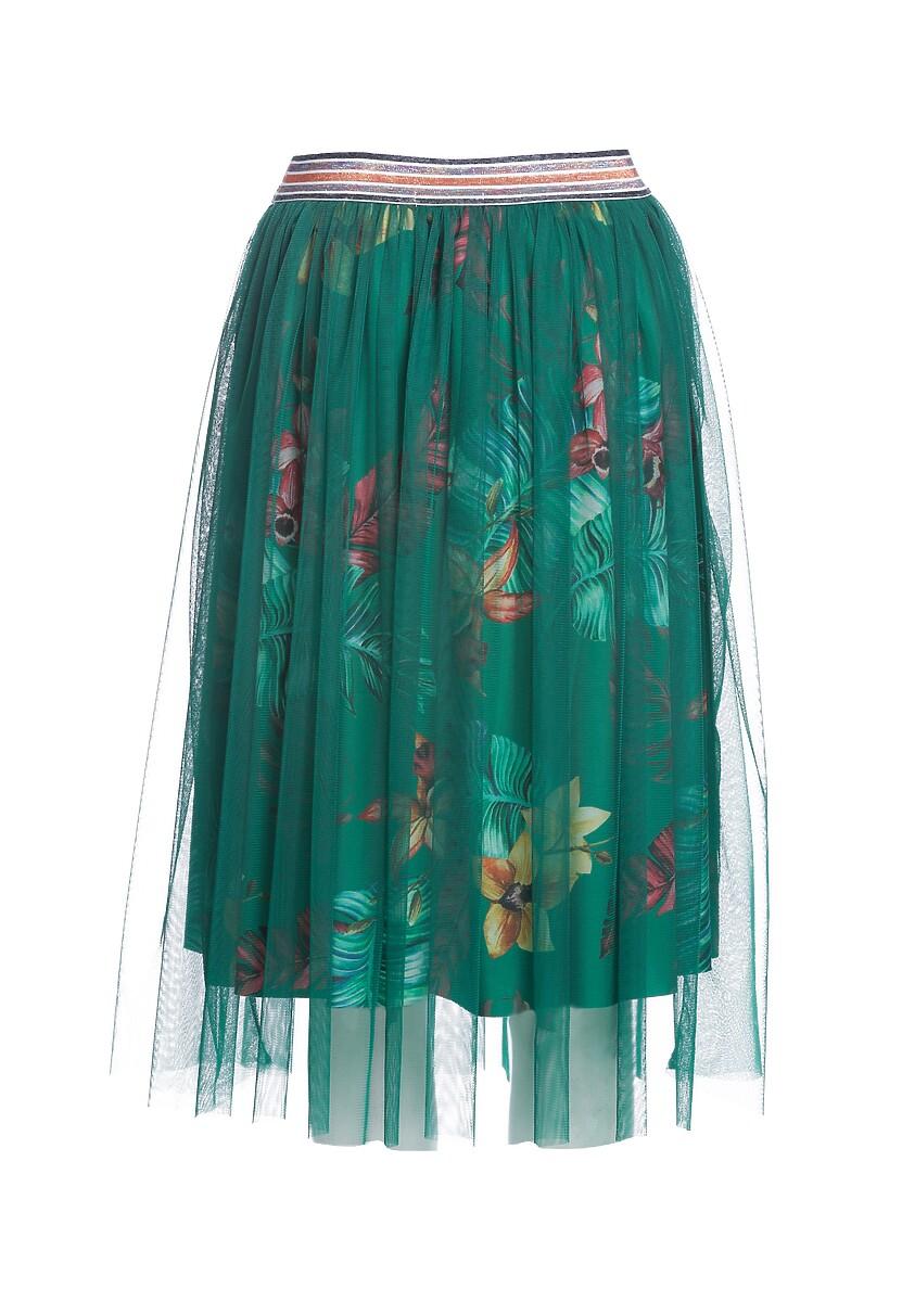 Zielona Spódnica Howl