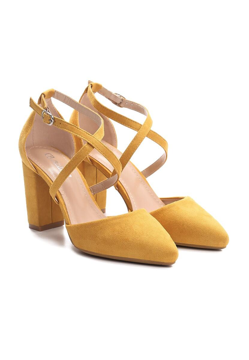 Żółte Czółenka Famuous