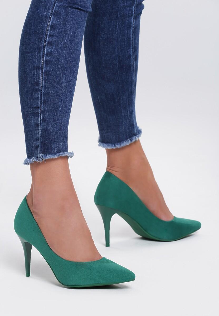 Zielone Szpilki Flawlessly