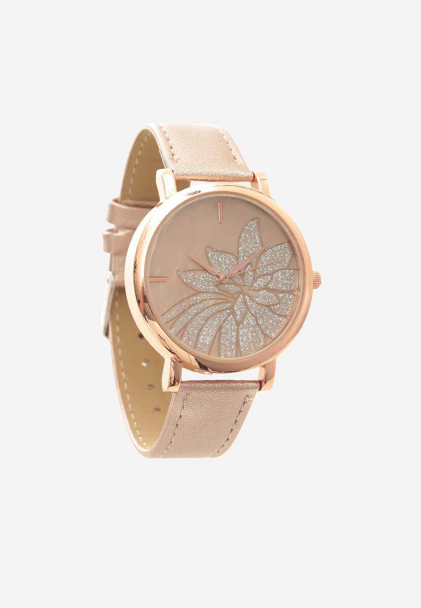 Ciemnobeżowy Zegarek Shrill