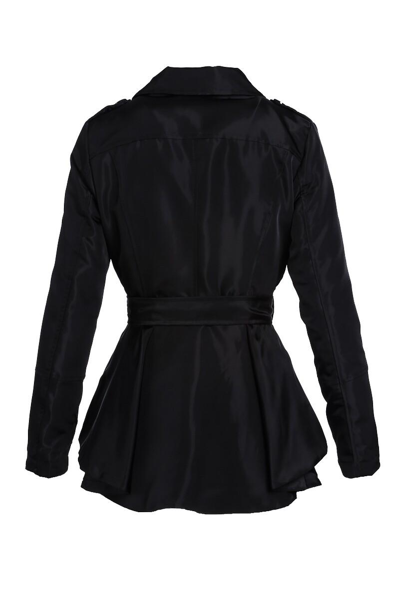 Czarny Płaszcz Overwritten
