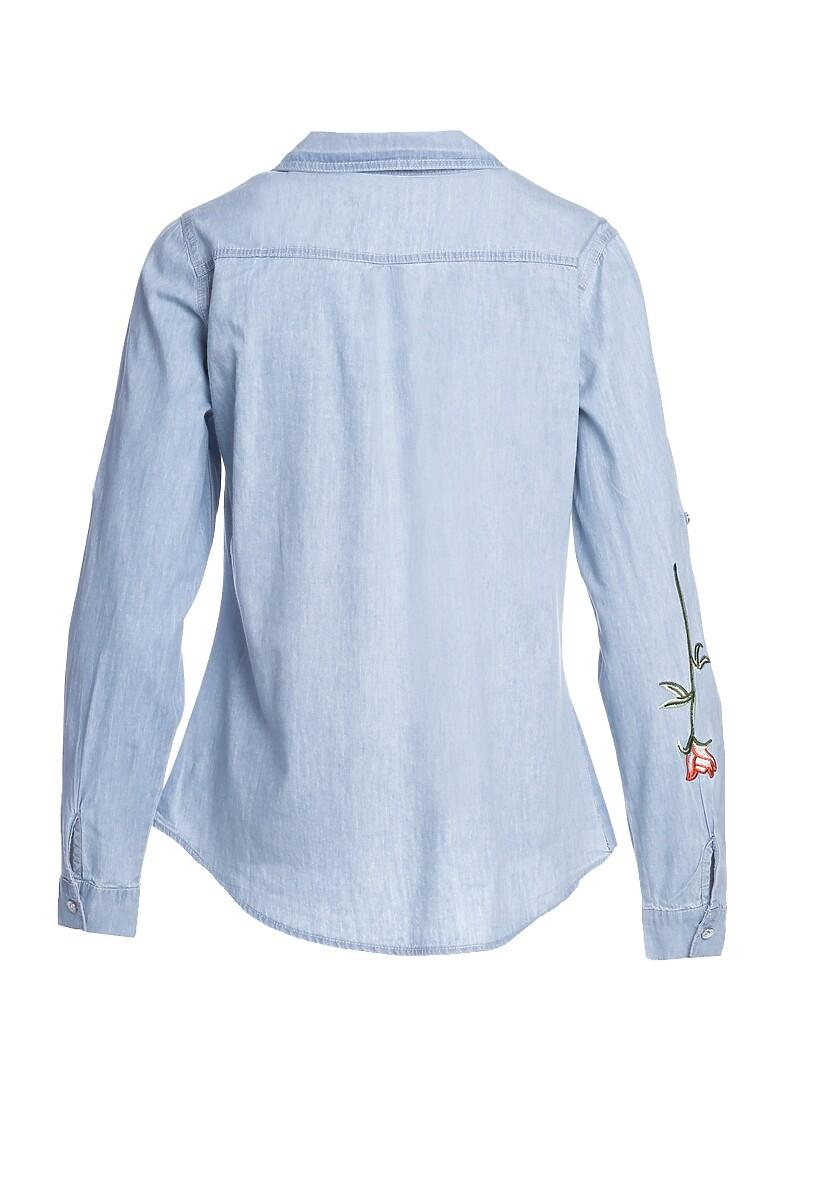 Niebieska Koszula Factfinder