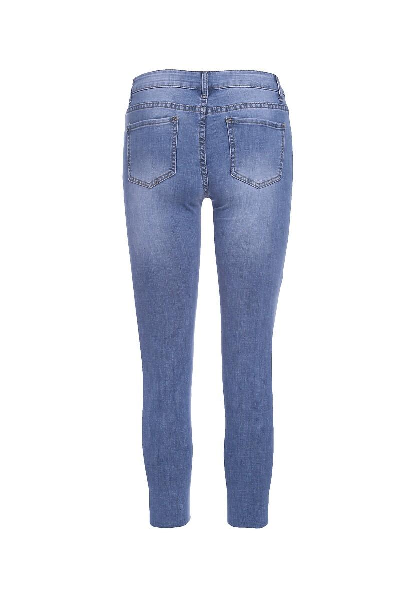 Niebieskie Jeansy Altitudinal