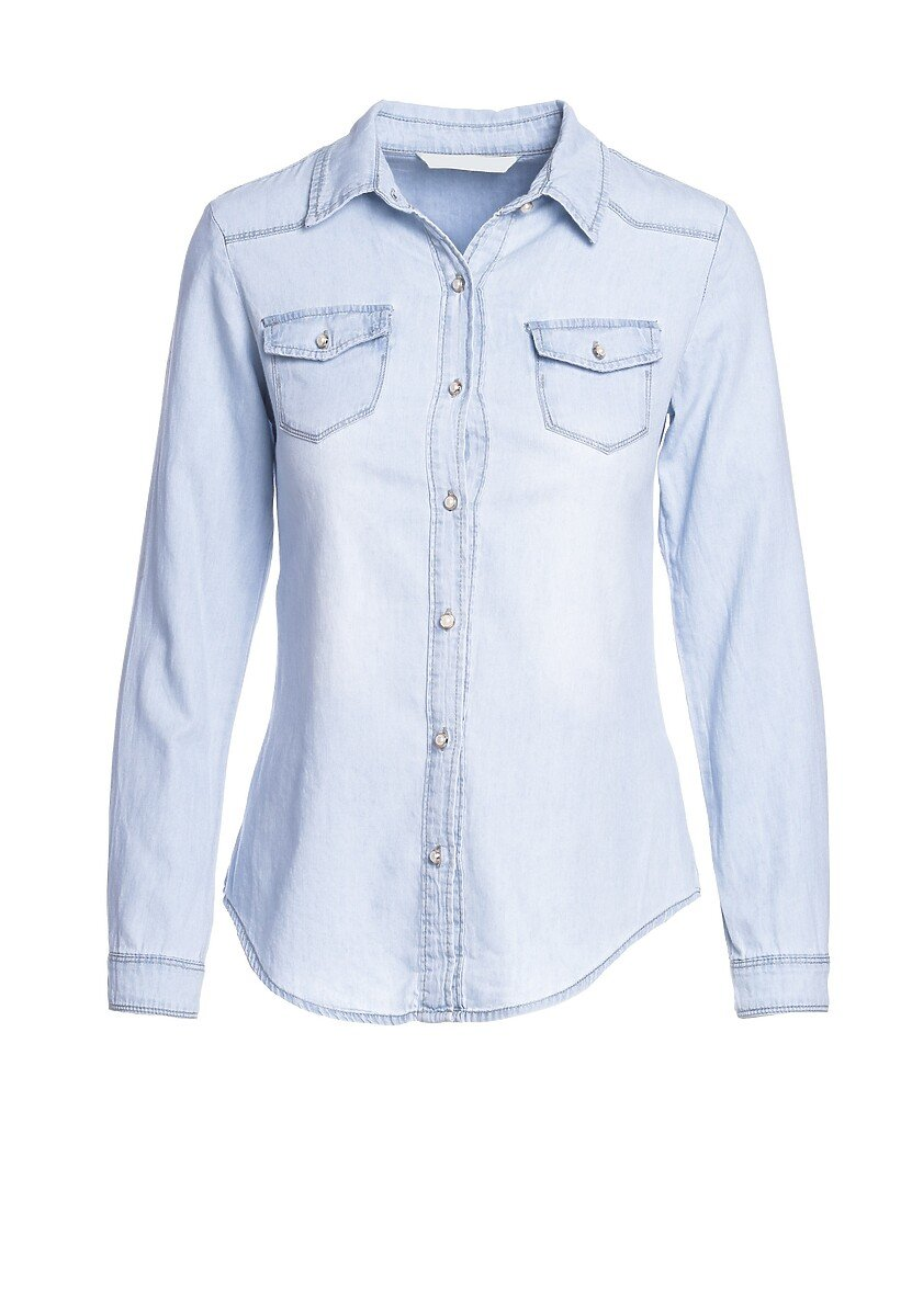 Niebieska Koszula Everchanging