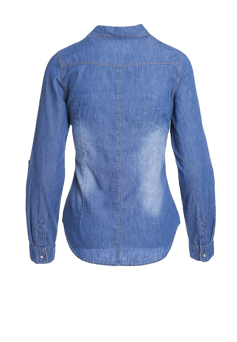 Niebieska Koszula Ready Thunder