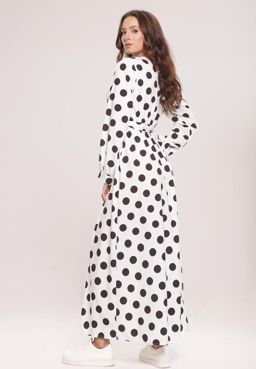 Biała Sukienka Overheat