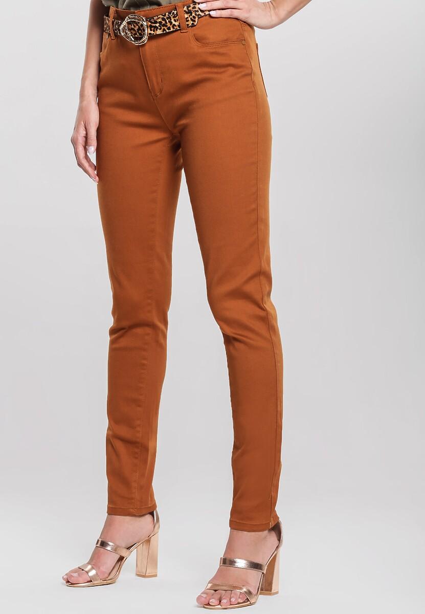 Brązowe Spodnie Get On With