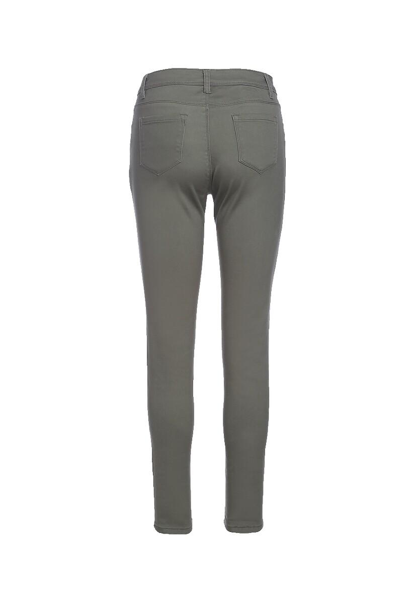 Ciemnozielone Spodnie Get On With