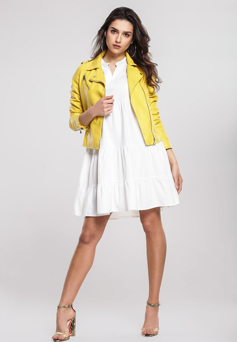 Żółta Ramoneska Somewhereness