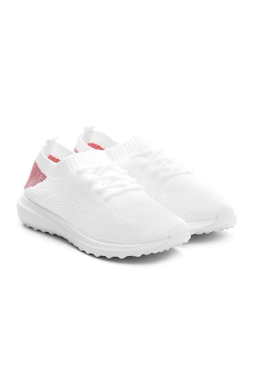 Białe Buty Sportowe Spiritedness