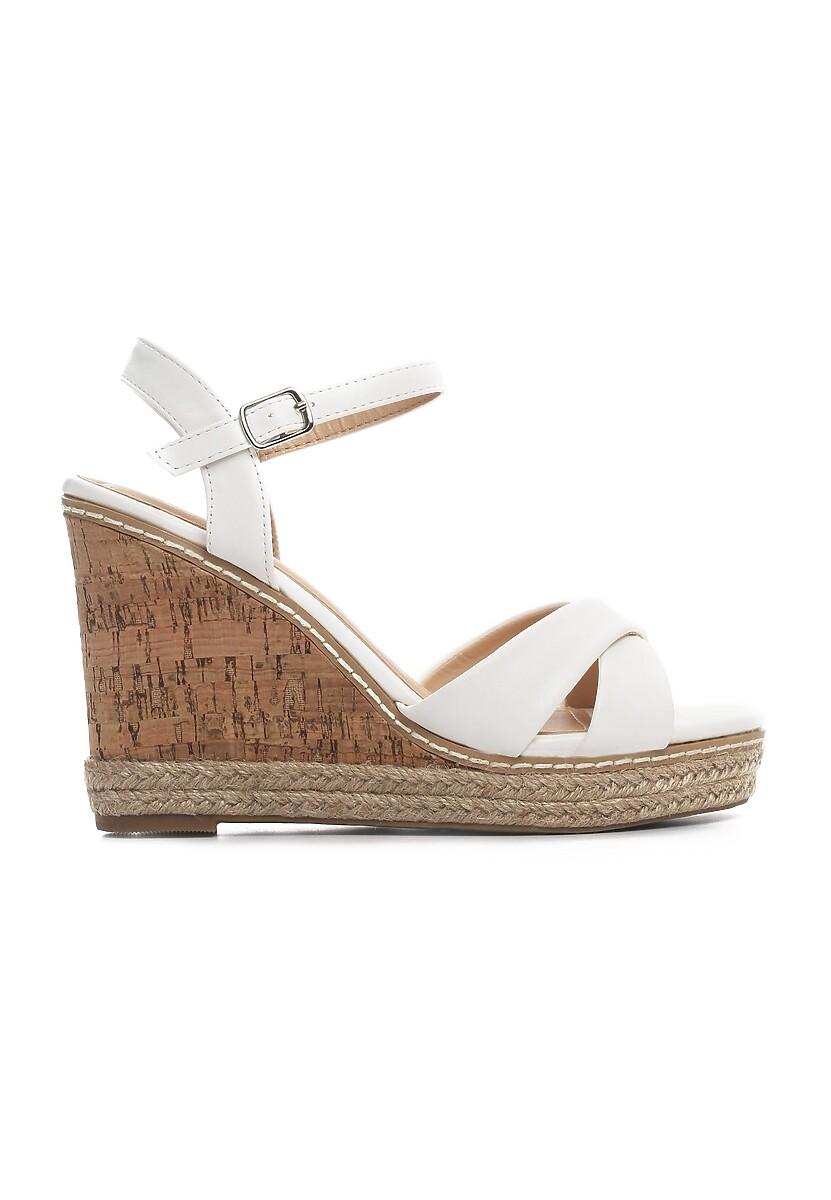 Białe Sandały Candor