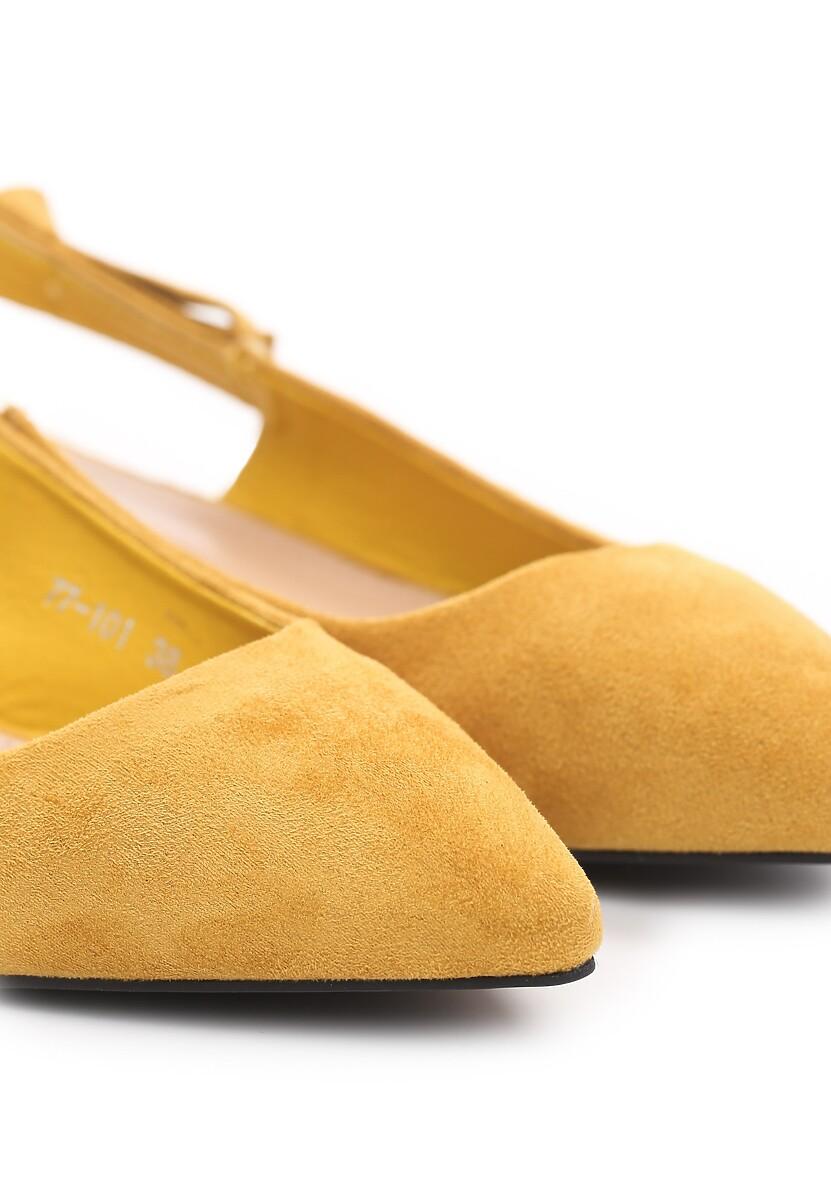 Żółte Czółenka Sizzle