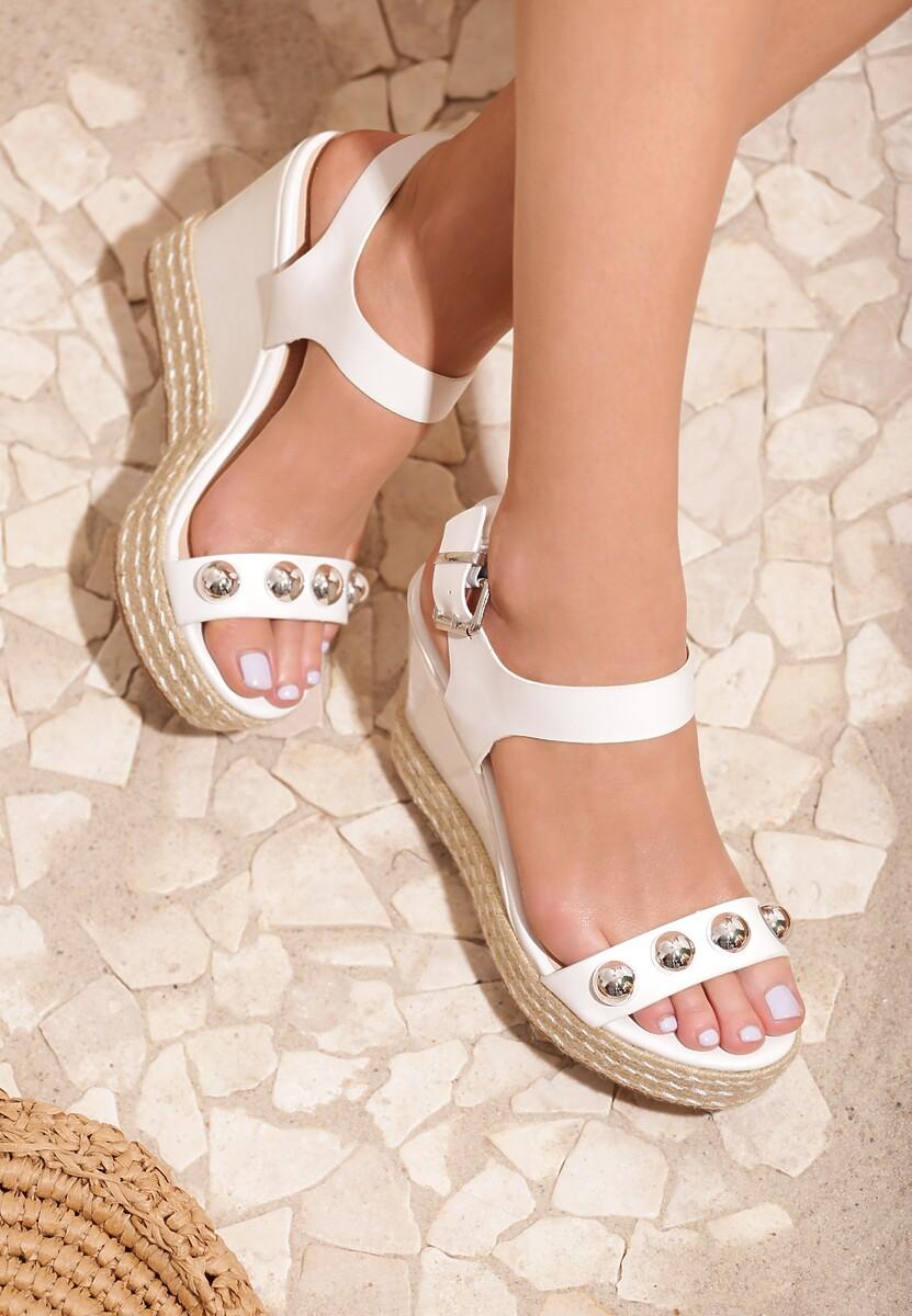 Białe Sandały Beauty