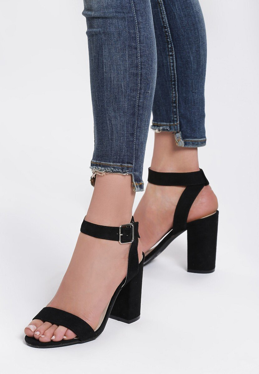 Czarne Sandały Radicool