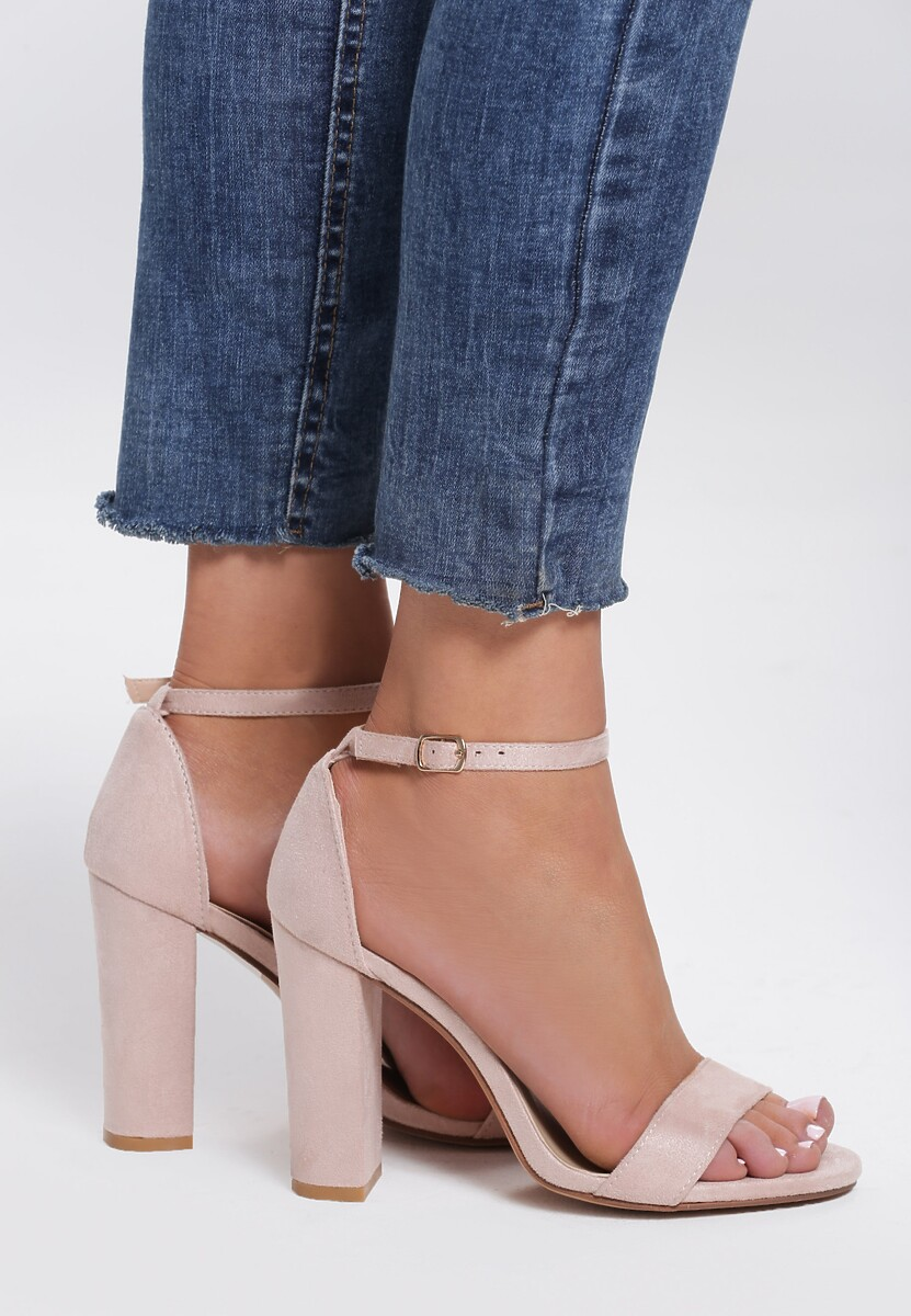 Beżowe Sandały Decimalization