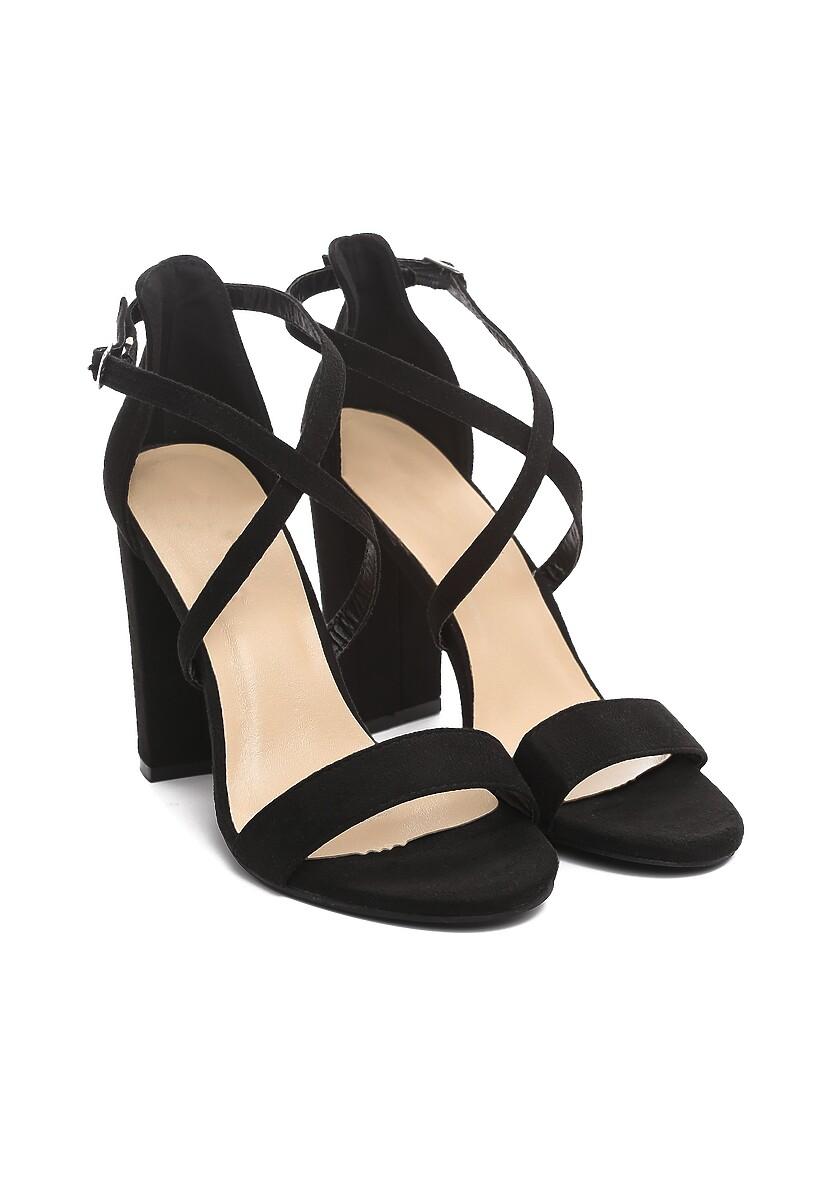 Czarne Sandały Immutation