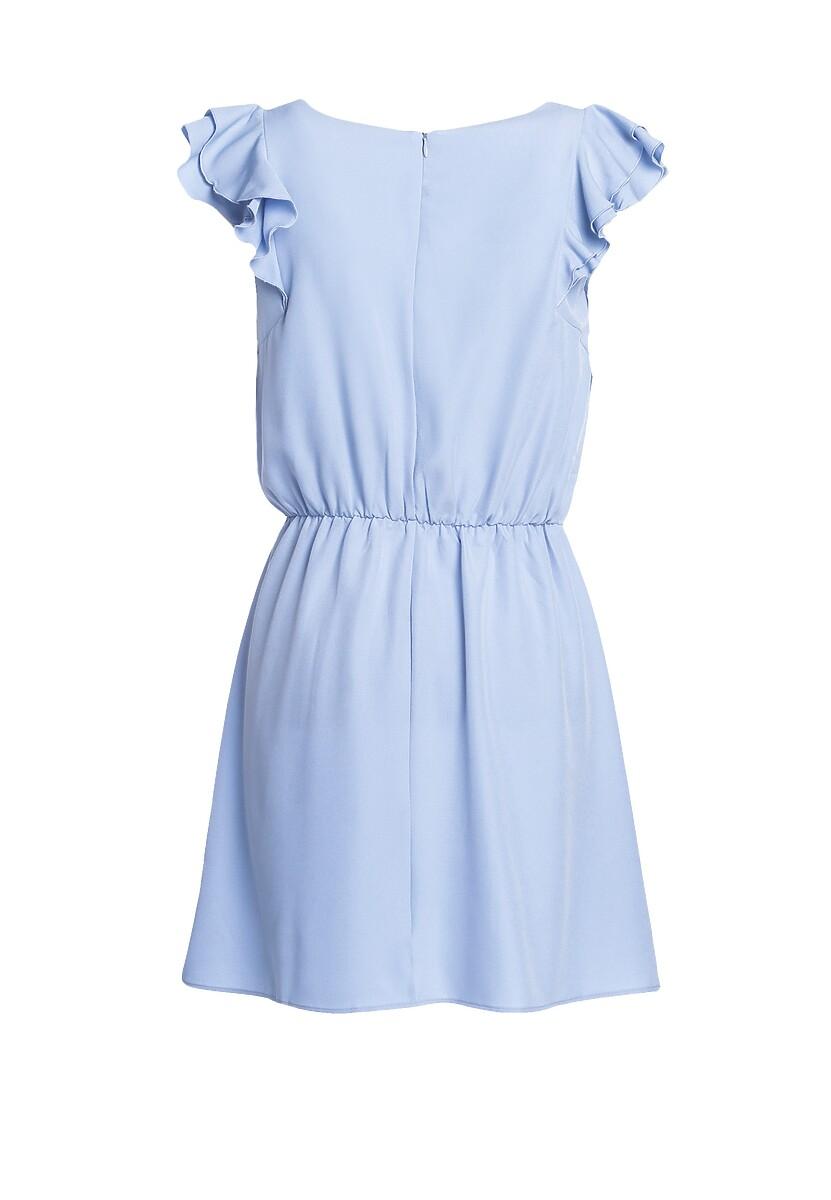 Niebieska Sukienka Lucky Luck