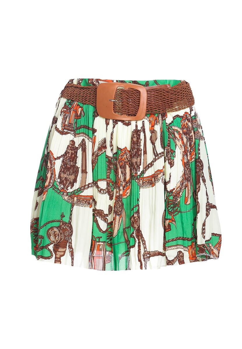 Zielona Spódnica Unquiet