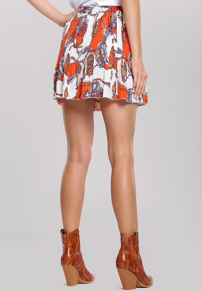 Pomarańczowa Spódnica Unquiet