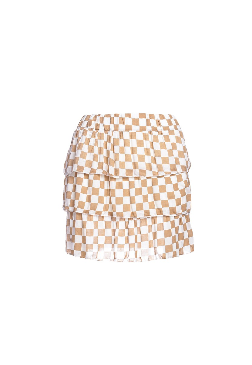 Beżowa Spódnica Metaphorically