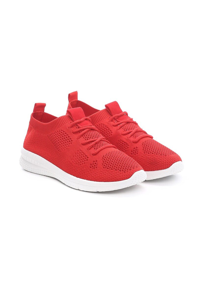 Czerwone Buty Sportowe Competitor