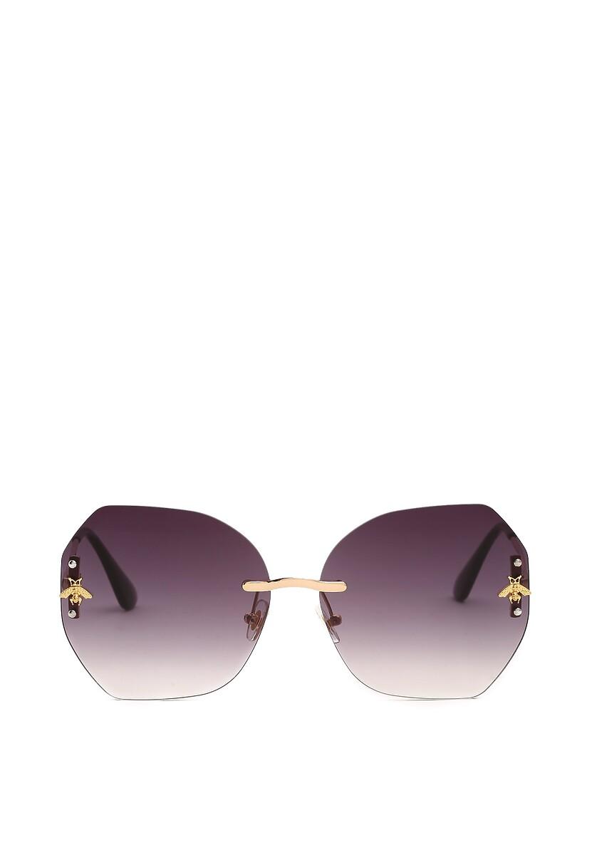 Złoto-Czarne Okulary Necessitate