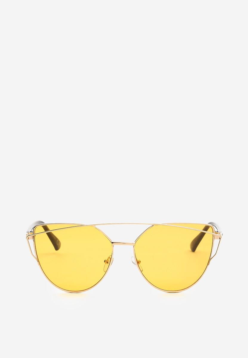 Pomarańczowe Okulary Bite