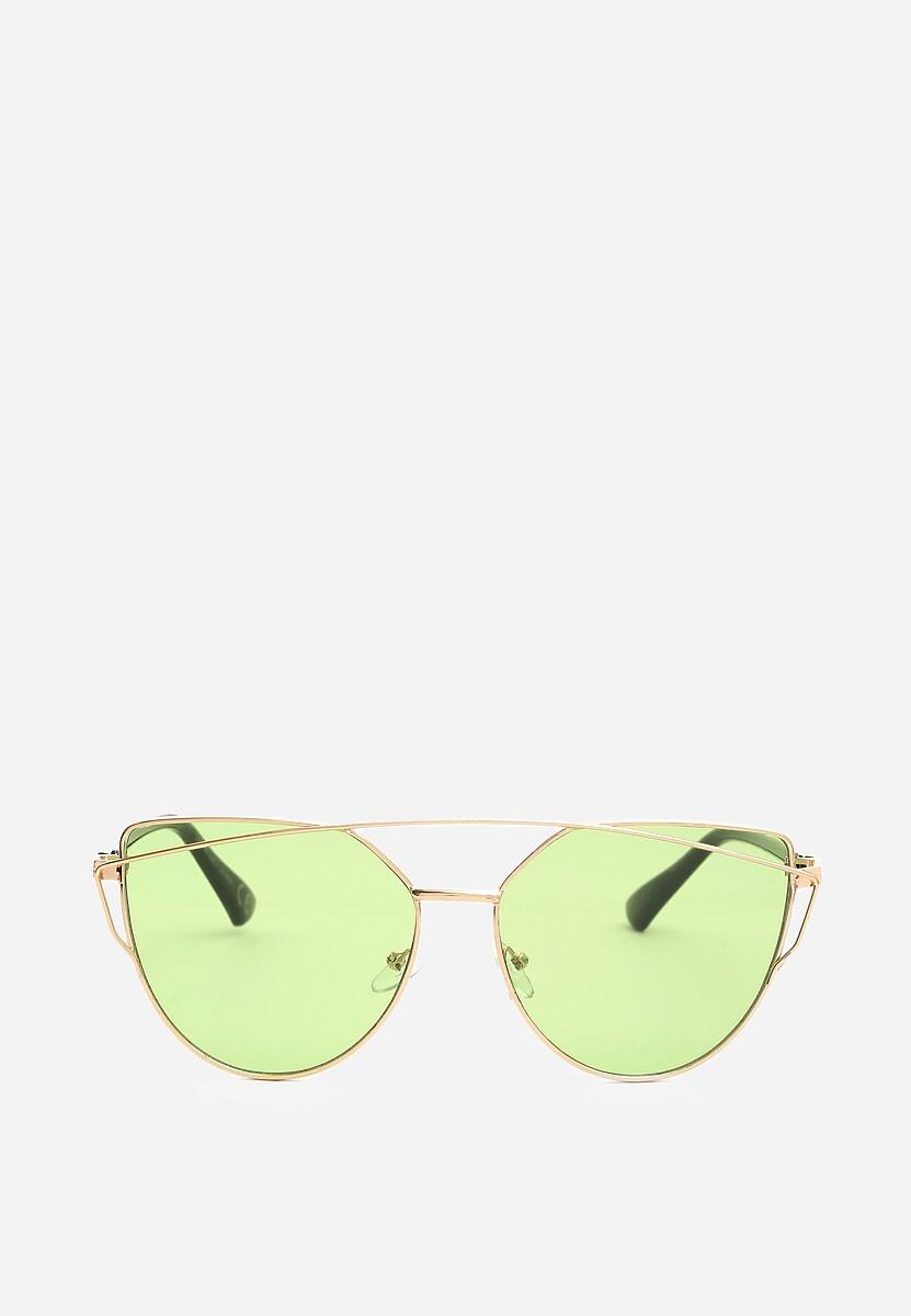 Jasnozielone Okulary Bite