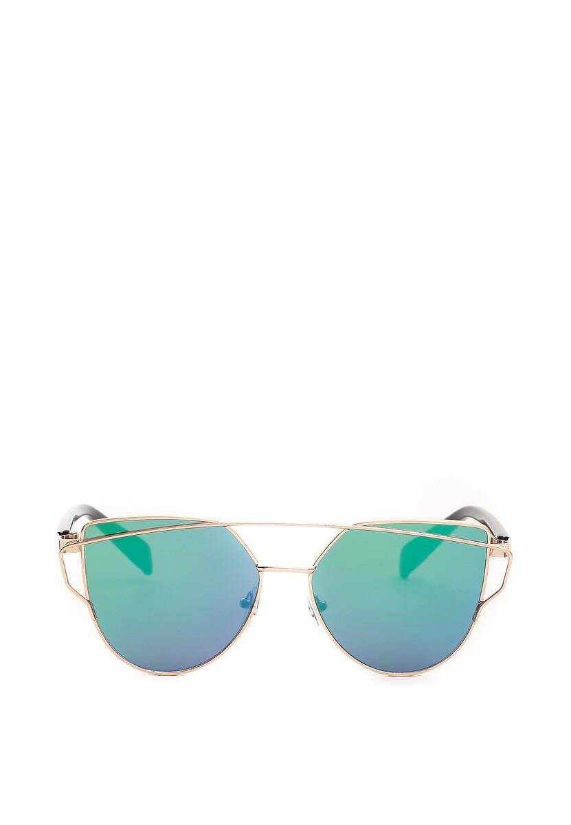 Złoto-Zielone Okulary Lyric Soprano