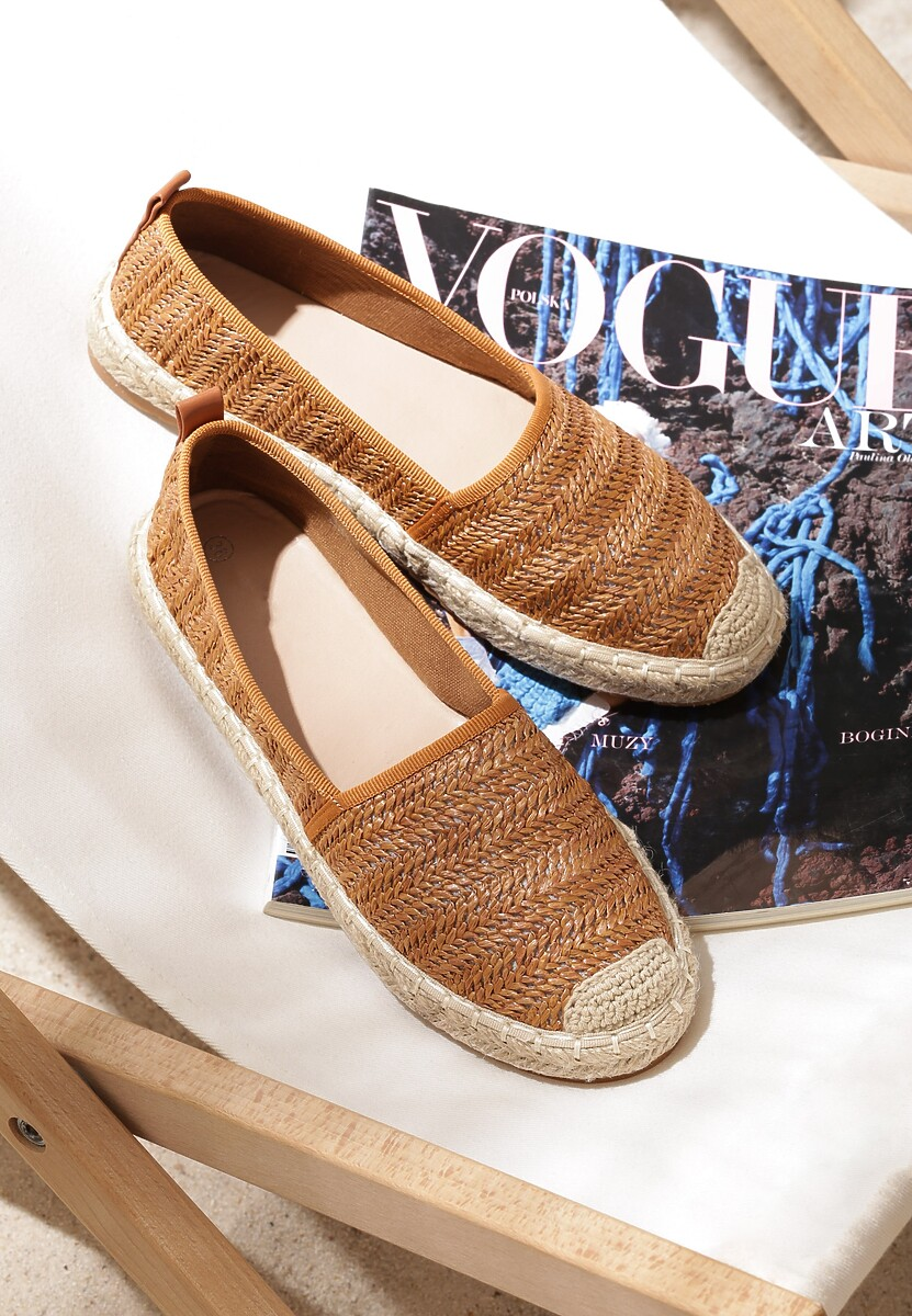 Camelowe Espadryle Noncompete