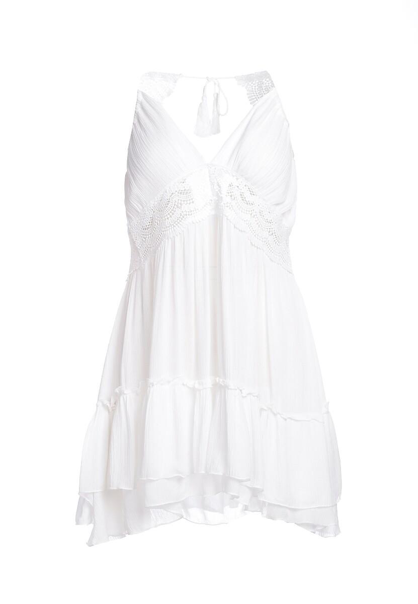 Biała Sukienka Living