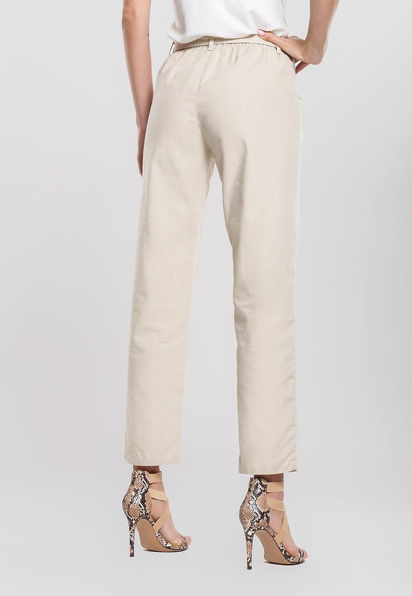 Jasnobeżowe Spodnie Thereof