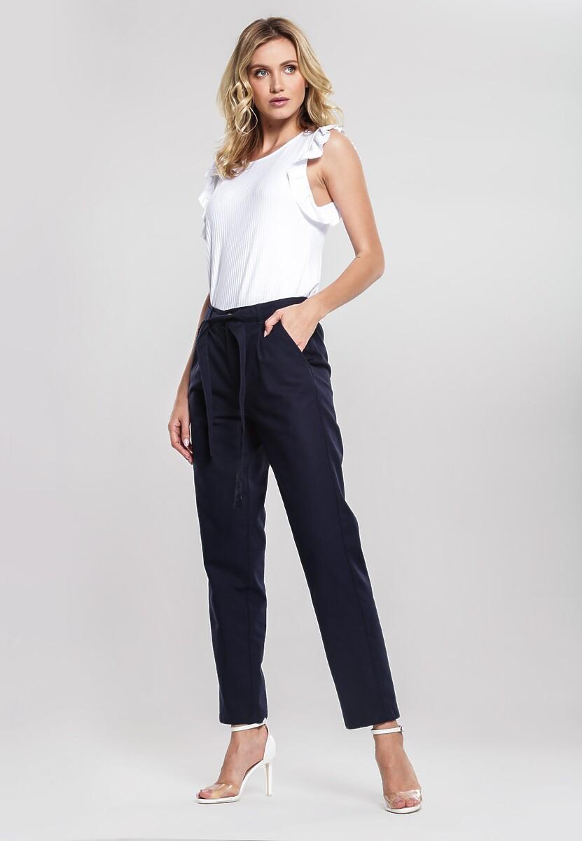 Granatowe Spodnie Thereof