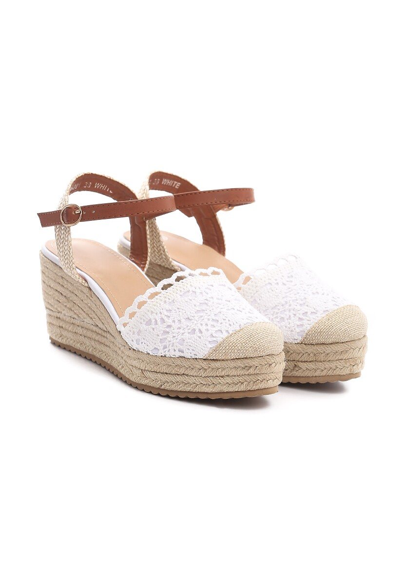 Białe Sandały Experimenter