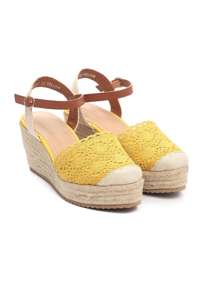Żółte Sandały Experimenter