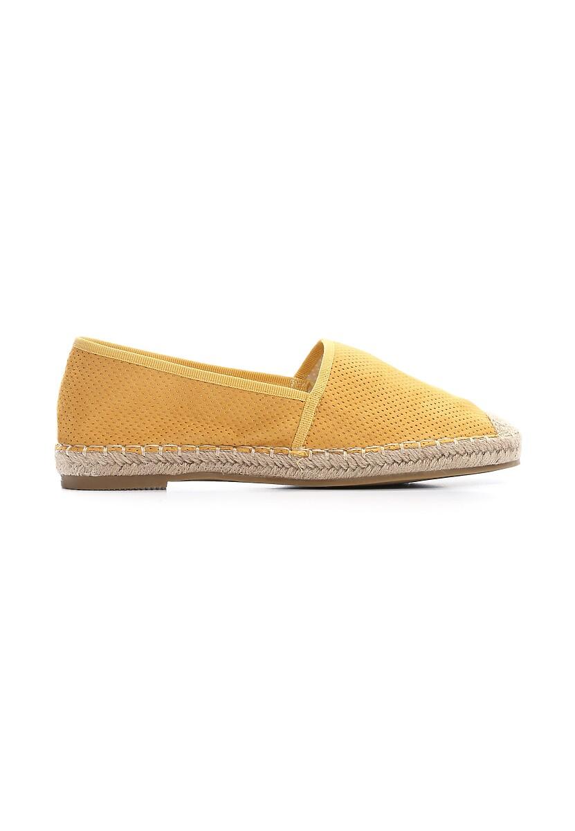 Żółte Espadryle Ballet