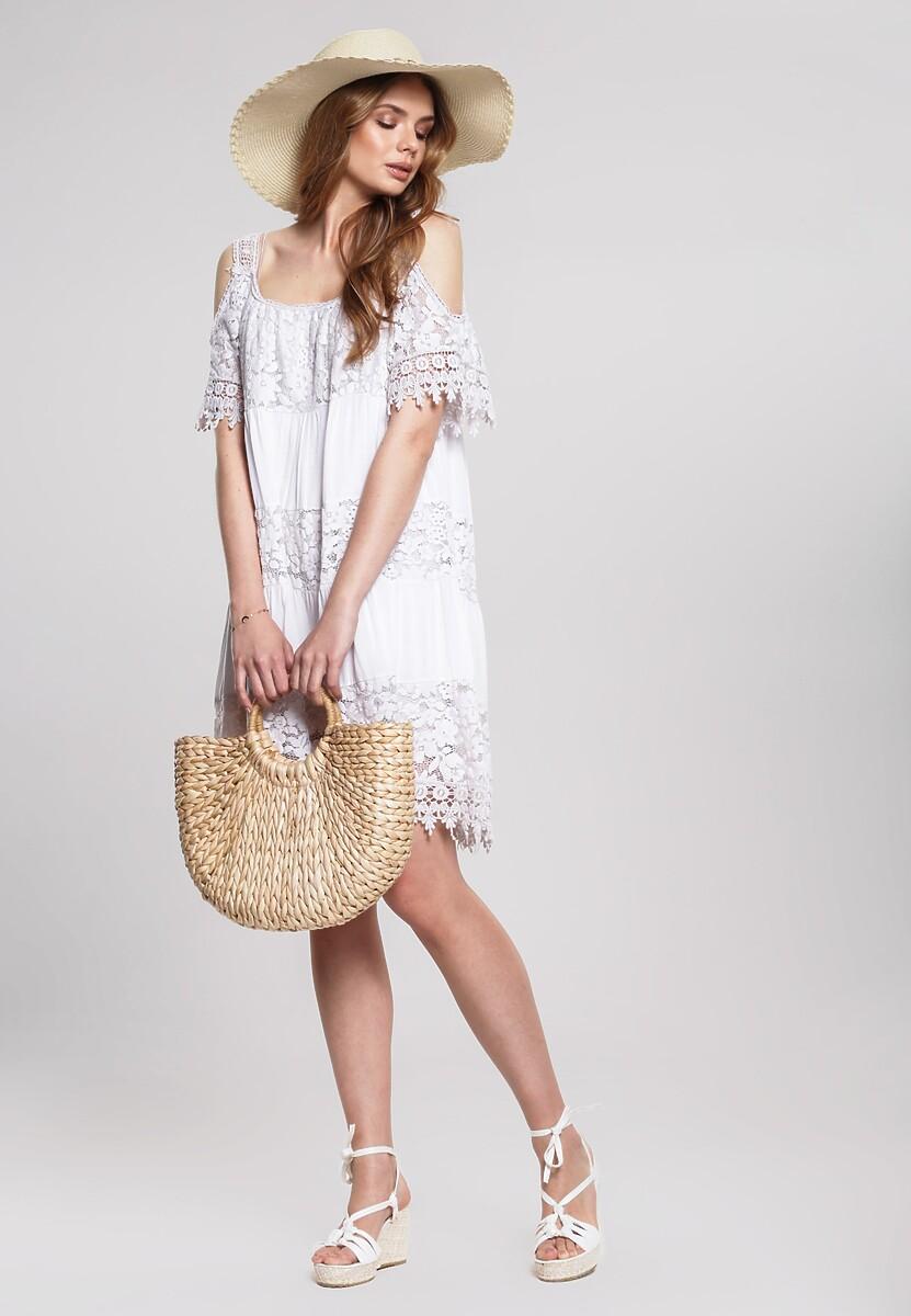 Beżowa Sukienka Creat