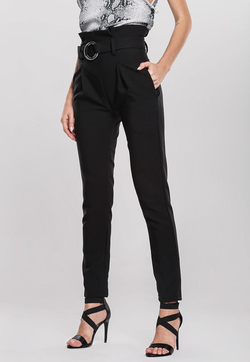 Czarne Spodnie Precursor