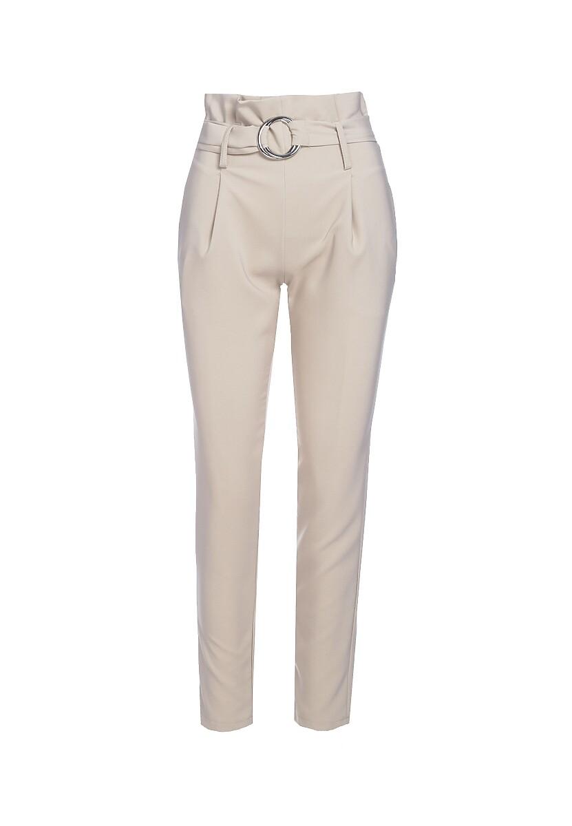 Jasnobeżowe Spodnie Precursor