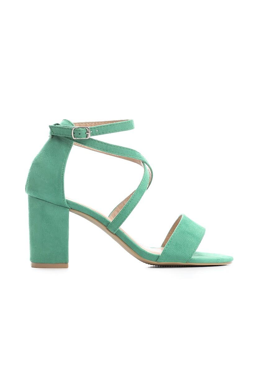 Zielone Sandały Younghood