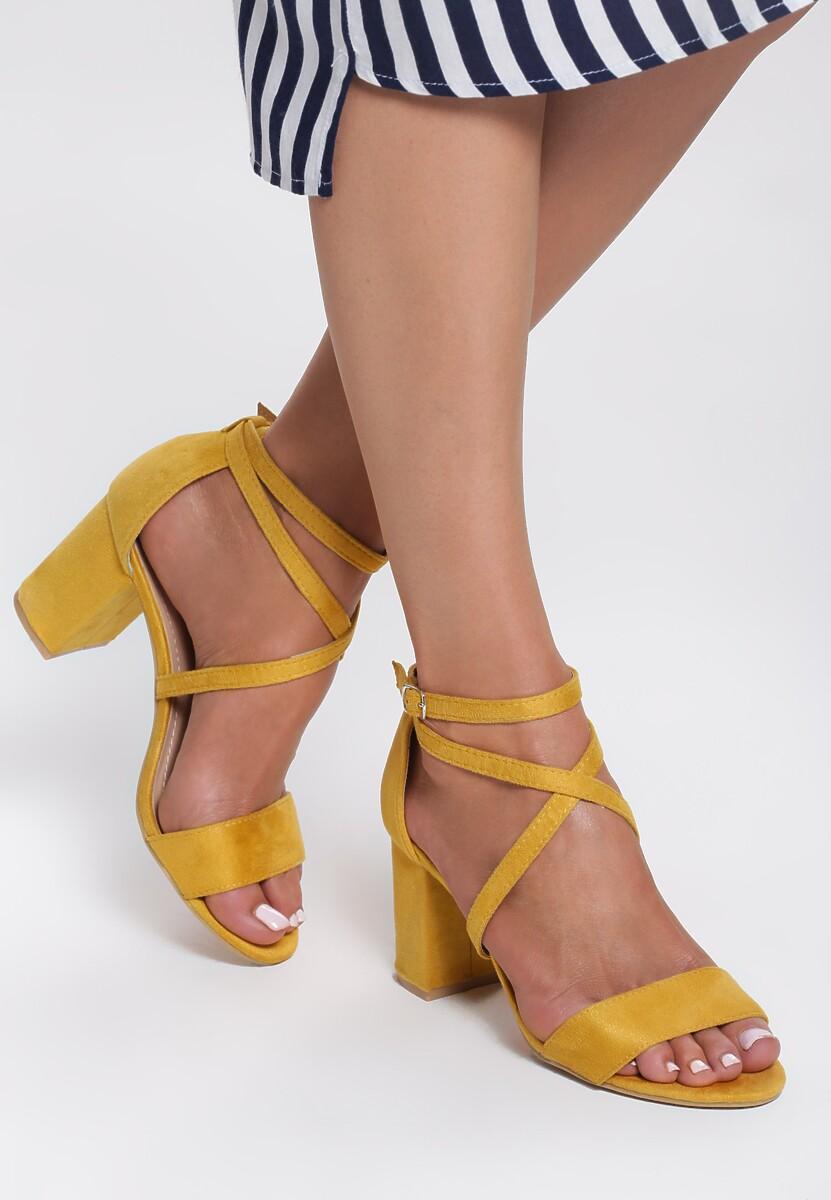 Żółte Sandały Younghood