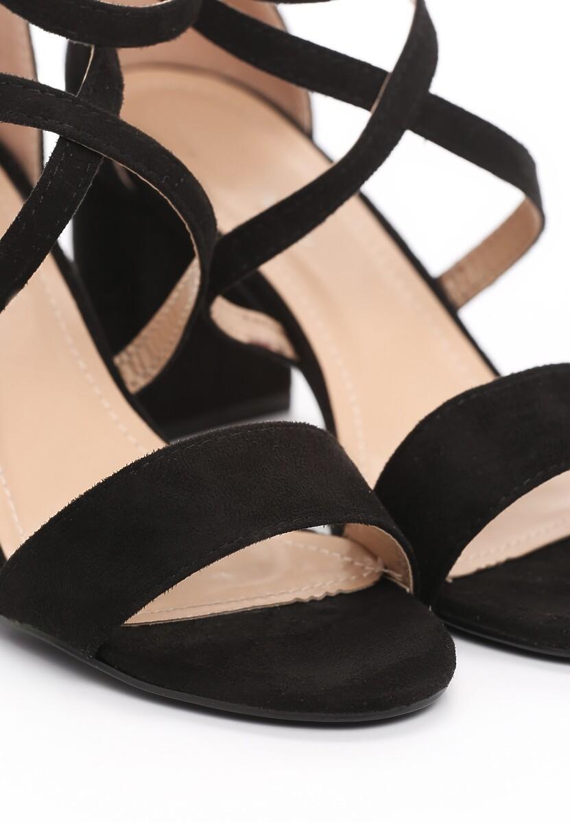 Czarne Sandały Younghood