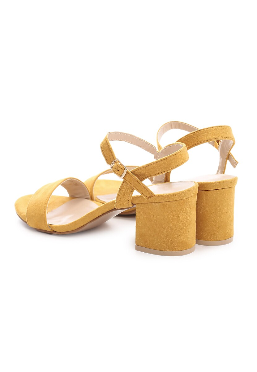 Żółte Sandały Bemusement