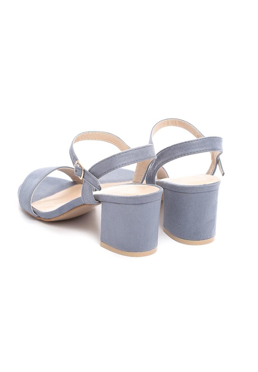 Niebieskie Sandały Bemusement