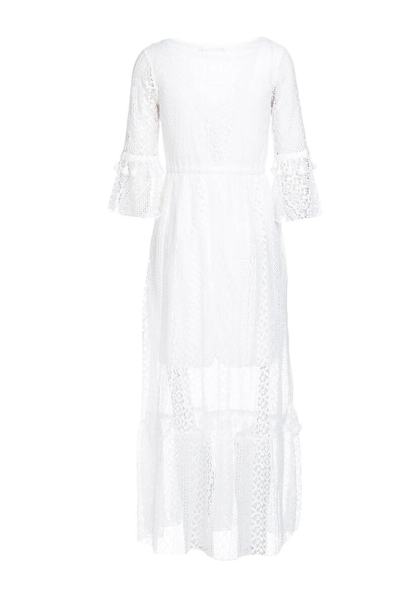 Biała Sukienka Individuality
