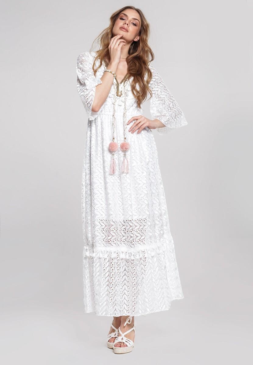 Biała Sukienka Adjective